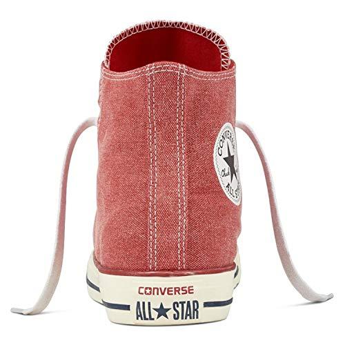 As Sneaker Enamel erwachsene 1j793 Can Hi Red Converse white Unisex enamel Charcoal Red q640qWd