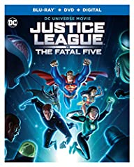 Justice League vs. The Fatal Five (Blu-ray/DVD/Digital)From animation legend Bruce Timm comes an all-new DC Universe movie. The fate of the earth hangs in the balance when the Justice League face a powerful new threat – the Fatal Five! Superm...