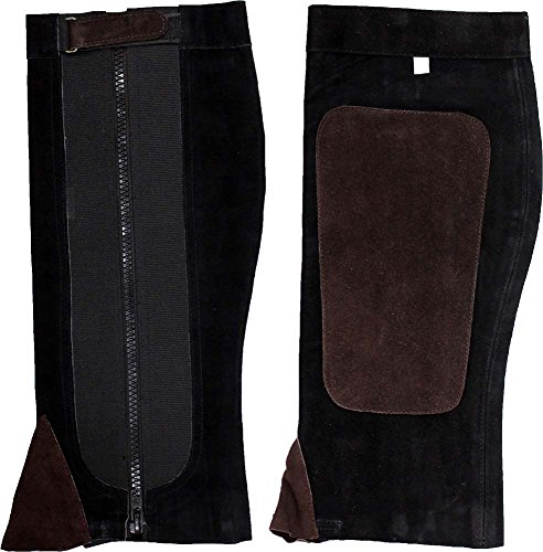 - Large Size Over-The-Boot Half Chaps-17 Inches X 7 Inches