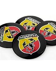 yongyong218 4 x 56 mm 2,2 inch Auto Wheel Center Hub Cap Emblem Decal Sticker voor Abarth Scorpion