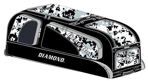Diamond Gear Box Baseball Bag (38'' X 12'' X 15'') - NEW CAMO COLORS - White Camo