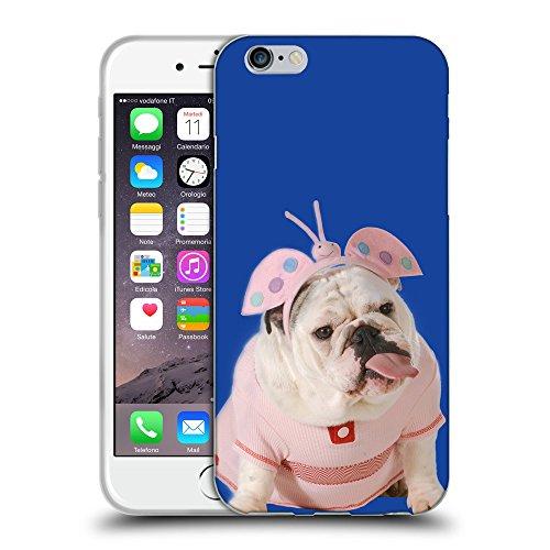 "GoGoMobile Coque de Protection TPU Silicone Case pour // Q05800613 Bulldog anglais Blu // Apple iPhone 6 4.7"""