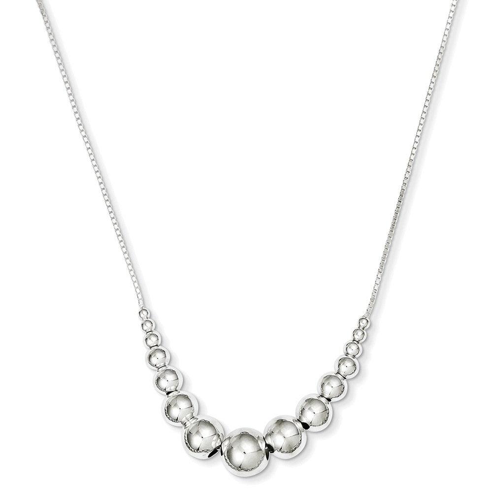 Lex /& Lu Sterling Silver Necklace 18 LAL6978