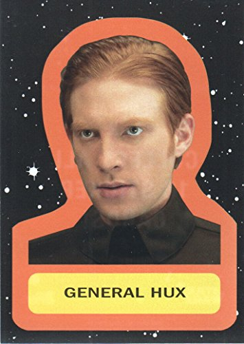 2017 Topps Star Wars Journey to The Last Jedi Character Retro Stickers #5 General Hux