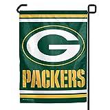 """Green Bay Packers Garden Flag - 11""""x15"""""""