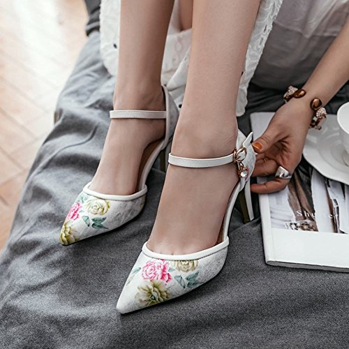 Donna MissSaSa MissSaSa Donna Bianco Affascinante Scarpe Affascinante Scarpe MissSaSa Bianco gqH7CC