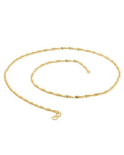 e96a8f6e7c8f0 Voylla Gold Toned Festoon Chain For Men  Amazon.in  Jewellery