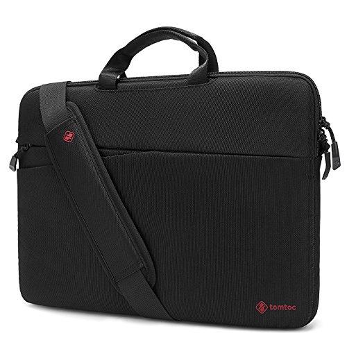 Tomtoc 360° Protective Laptop Messenger Bag Lightweight Slim Shoulder Bag Handbag Briefcase for 13-13.3 Inch MacBook Air, MacBook Pro, Surface Book, Surface Laptop, Chromebook, Men, Women