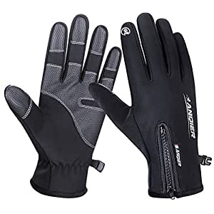 Amazon.com: Anqier Winter Sports Gloves,Touchscreen Warm