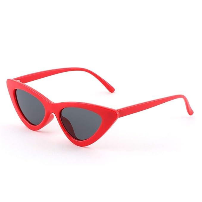 NIFG Triángulo personalidad gafas de sol moda calle tiro ...