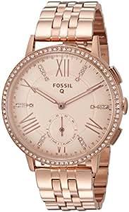 Fossil Q Gazer Gen 2 Hybrid Rose Gold Tone Stainless Steel Smartwatch