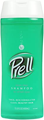 Prell Classic Clean Shampoo, Leaves Hair Healthy, Shiny and Full of