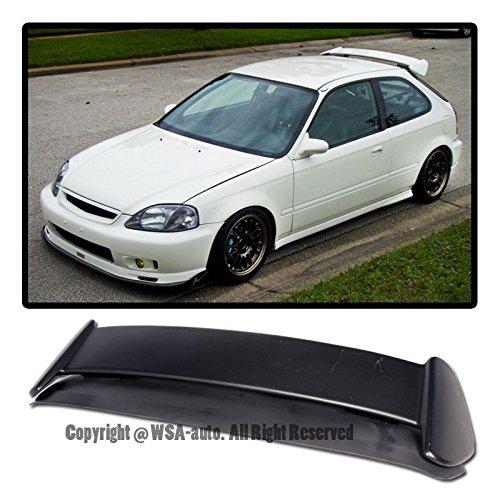 Extreme Online Store EOS Body Kit Rear Wing Spoiler - for Honda Civic 3 Door Hatchback EK9 96-00 1996 1997 1998 1999 2000