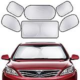 folding sun visor - GHB Full Car Sun Shade Folding Silvering Reflective Car Window Sun Shade Visor Shield Cover