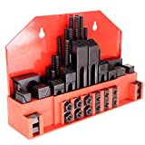 58Pc T-Slot Clamping Kit Mill Machinist Set Table