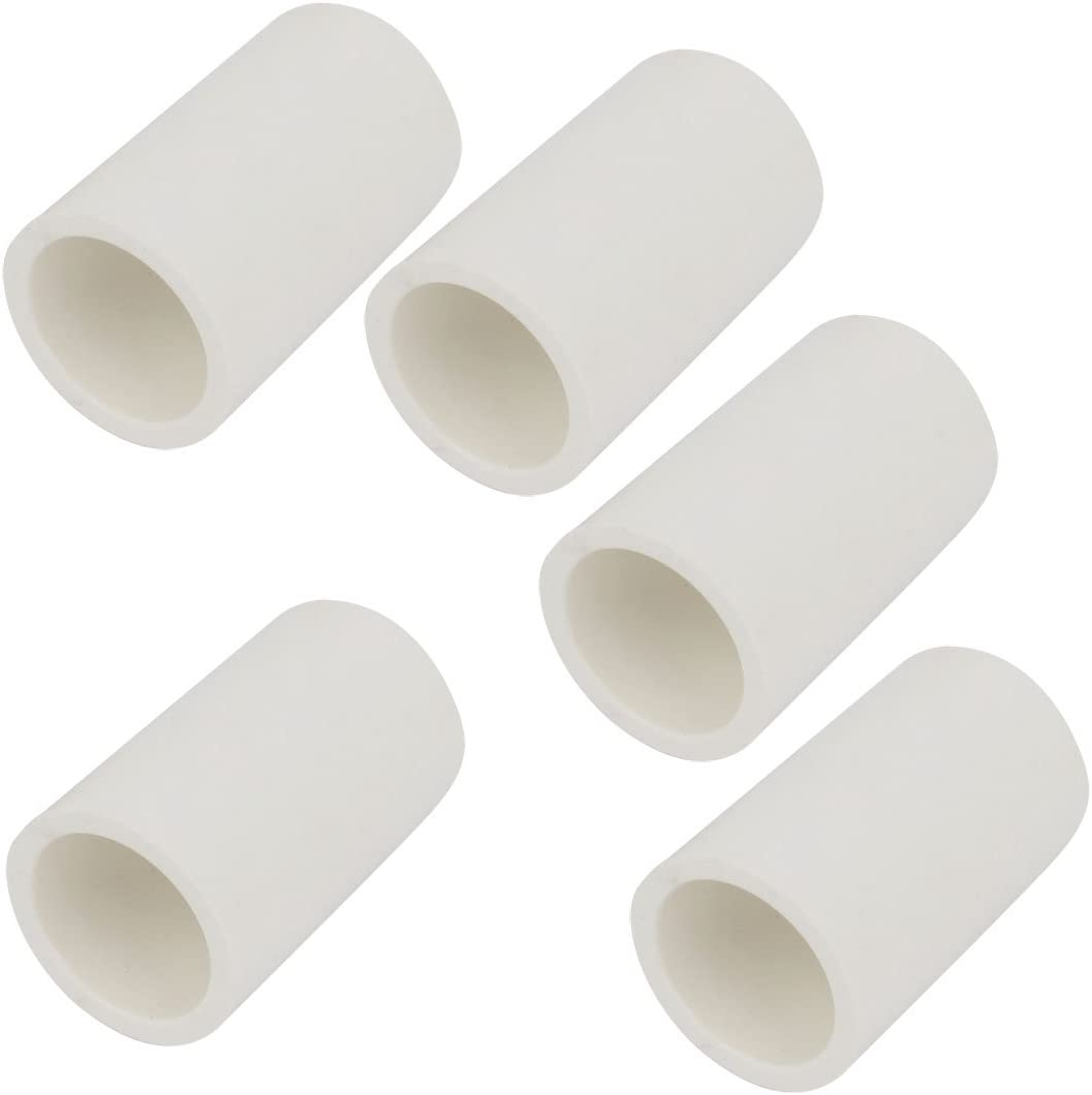 5 piezas PVC-U 20 mm tubo adaptador agua potable dentro blanco