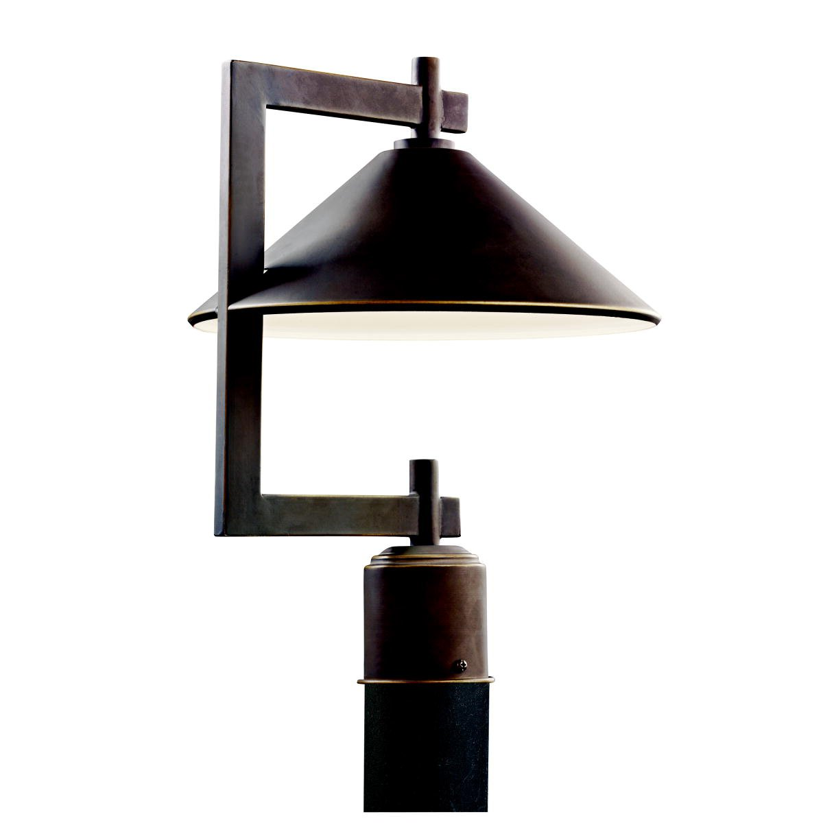 Kichler 49063OZ One Light Outdoor Post Mount by Kichler Lighting