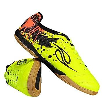 Chuteira Dalponte Contact Futsal Amarela  Amazon.com.br  Esportes e ... 10c923c94bf60