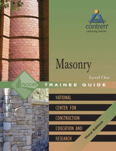 Masonry Level 1 Trainee Guide, Hardcover (3rd Edition)