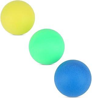 GLOGLOW 60 Teile/Satz 40mm Bunte Ping Pong Ball, Unterhaltung Gaming Lottery Dekorative Bälle Farbige Pong Bälle