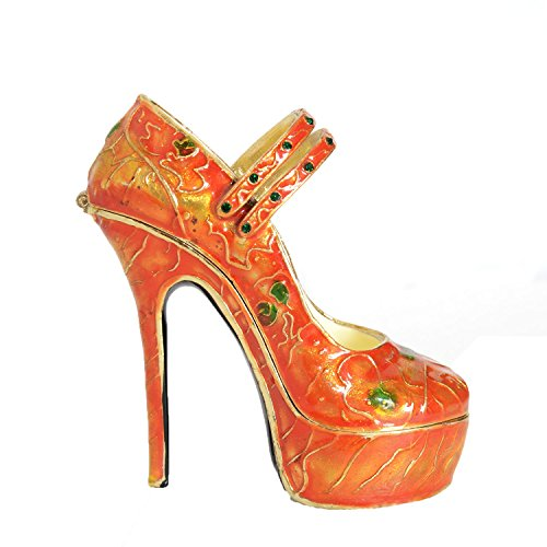 Minihouse Shoes Trinket Treasure Jewelry Box Figures Collectable (High Heels) ()