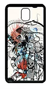 Fit Case with Abstract Painting SKULL Printed Plastic and Back Case Cover for Samsung Galaxy Note 3 n900