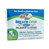Ark Naturals Breath-Less Plaque Zapper Fizzy for Small to Medium Pets - 30 Packets