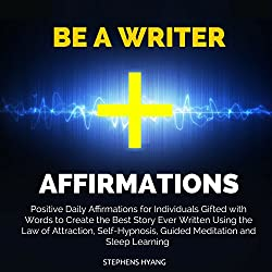 Be a Writer Affirmations