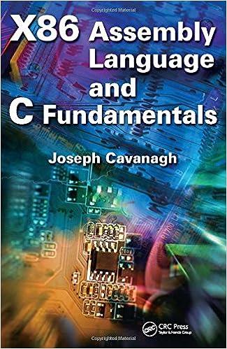 X86 Assembly Language and C Fundamentals: Joseph Cavanagh