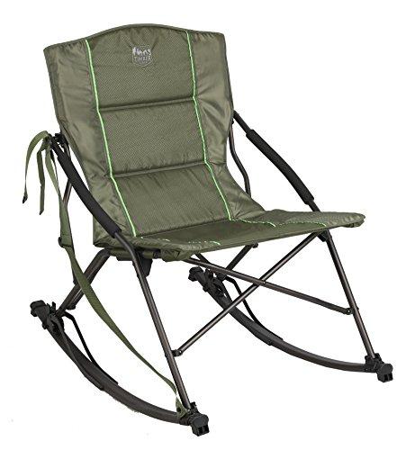 (Timber Ridge Catalpa Relax & Rock Chair, Green)