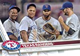 Texas Rangers 2017 Topps Complete Mint Hand Collated Team Set with Elvis Andrus and Adrian Beltre Plus