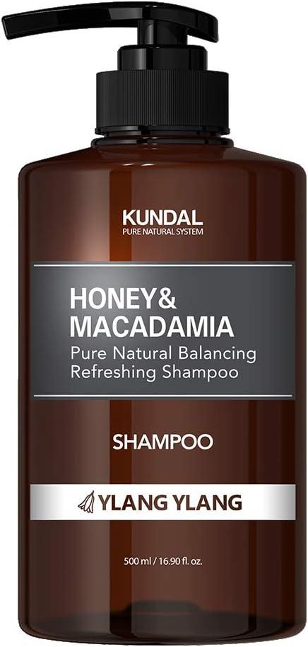 [KUNDAL公式]ネイチャーシャンプー500ml イランイラン Nature Shampoo 500ml Ylang Ylang 全成分EWGグリーンレベル・pH弱酸性・自然由来界面活性剤