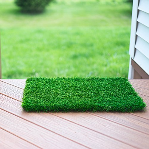 Zestynest Artificial Grass Doormat With Smartdrain