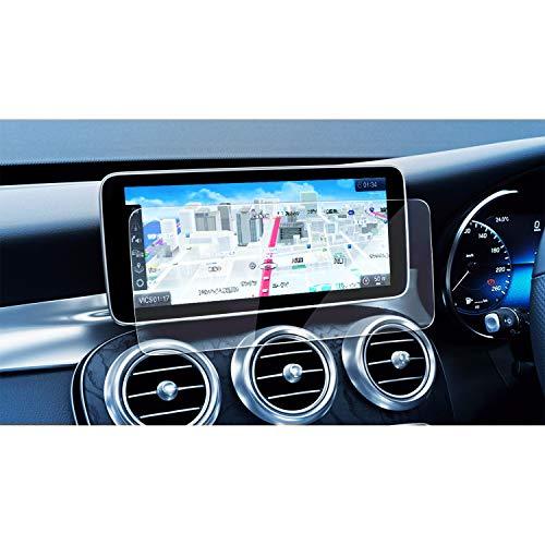 [해외]【 LFOTPP 】 신형 메르세데스 벤츠 C-Class Benz 10.25 인치 유리 필름 네비게이션 보호 필름 높은 투명 고감도 터치 기포 제로 스크래치 방지 자기 흡착 타입 붙여 간단 9H / [LFOTP