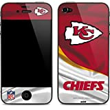 NFL Kansas City Chiefs iPhone 4&4s Skin - Kansas City Chiefs Vinyl Decal Skin For Your iPhone 4&4s