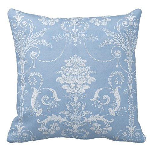 light blue and white throw pillow - 7
