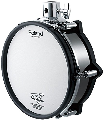 Roland PD-108-BC 10'' Dual Trigger Pad-Black Chrome - New by Roland