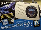 emerson sound - Instant Weather Radio Plus TV Sound (RP 6248)