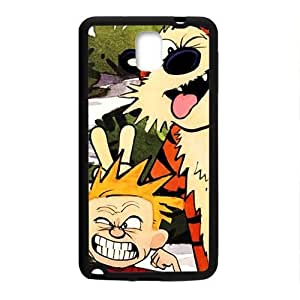 Naughty tiger and boy Cell Phone Case for Samsung Galaxy Note3