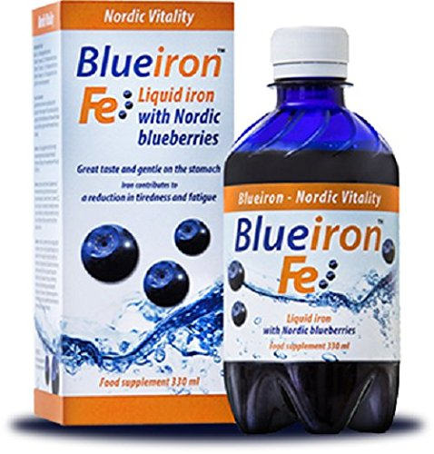 Liquid Mineral Supplement, Iron, Nordic Blueberries, full of beneficial antioxidants
