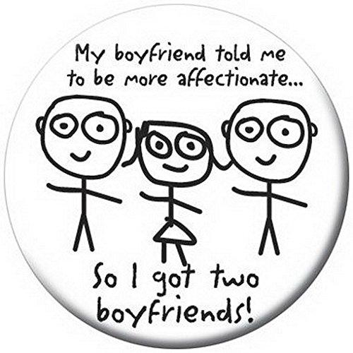 Ata-Boy David and Goliath My Boyfriend Button 81271