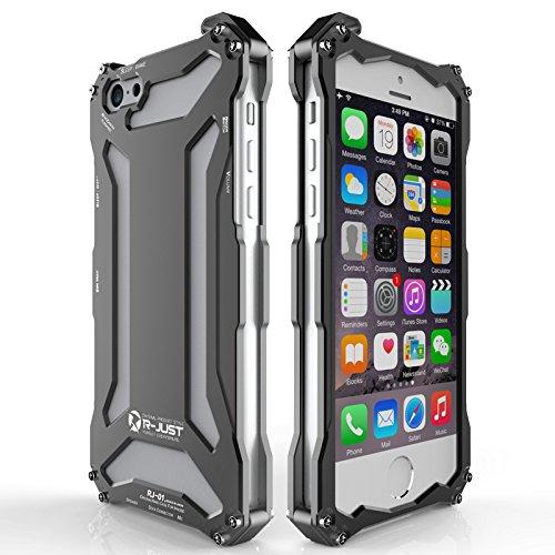 big sale eda76 00c23 Iphone 6 Plus / 6s Plus Case, Lwang Luxury Aluminum Metal ShockProof  Oxidation Aluminum Outdoor Sport Case Cover for Iphone 6 Plus / 6s Plus (  just ...
