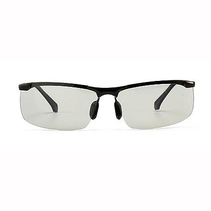 Día y noche gafas polarizadas inteligentes que cambian de color Gafas de sol de conducción Gafas