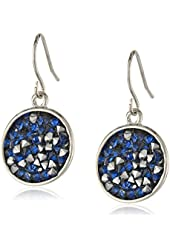 Kenneth Cole New York Faceted Bead Disc Drop Earrings