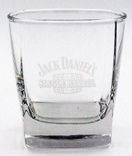 Jack Daniel Distillery Single Barrel Promotional 4oz Tumbler - Glass