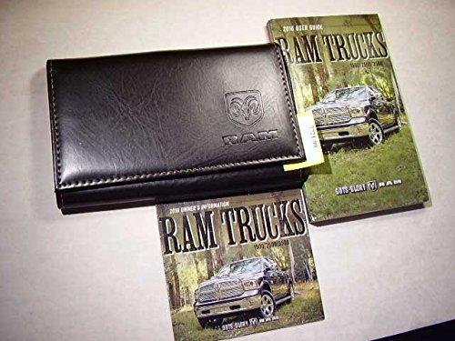2016 Dodge Ram Truck 1500 2500 3500 inclu Diesel Owners Manual