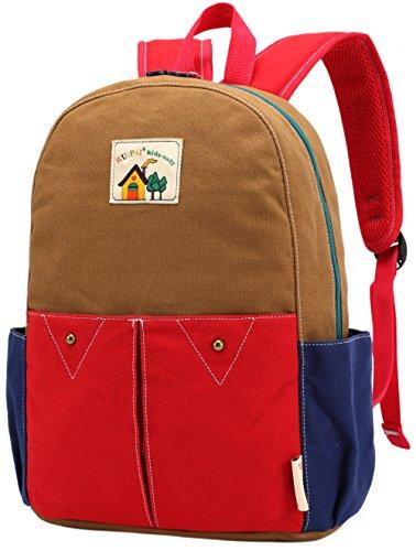 ArcEnCiel Children Canvas Backpack Rucksack