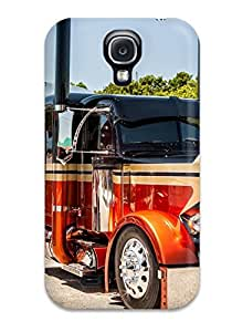 Awesome Case Cover/galaxy S4 Defender Case Cover(custom Peterbilt Semi Trucks)