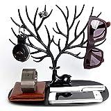 Creative Antlers Jewelry Desktop Shelf Deer King Jewelry Stand Accessories Display Rack Shelf
