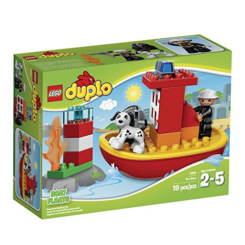 LEGO Duplo Town 10591 Fire Boat Building Kit